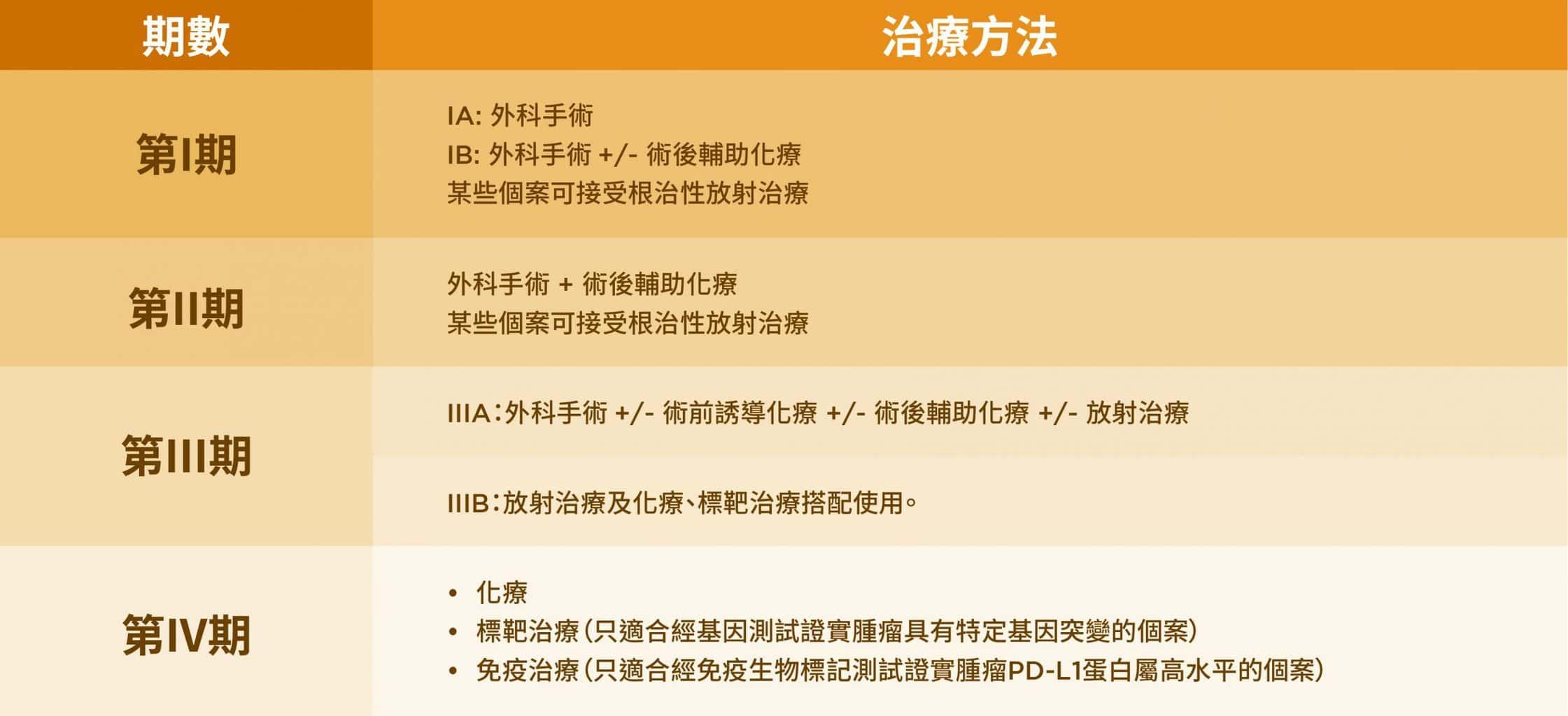肺癌-肺癌的治療-李宇聰醫生-腫瘤-癌症-治療-治療方法